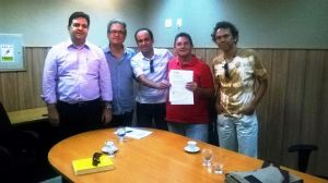 Comissão do Fórum Potiguar de Cultura com Fábio Dantas (coord equipe transição)